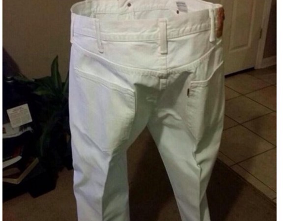 A Time When Long Pants Really Are In Order (wtf)
