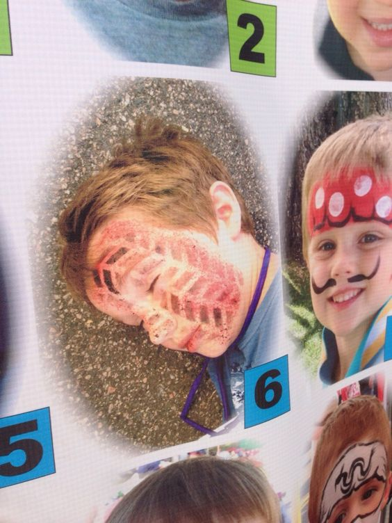 I'm At a Local Arts Festival This Face Painter is