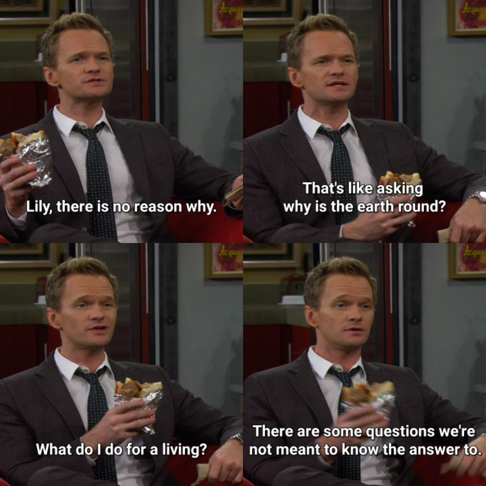 Yet Another Reason to Love Barney Stinson